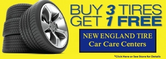 Buy 3 Get 1 Free Tires >> New England Tire Promotions Buy 3 Tires Get 1 Free