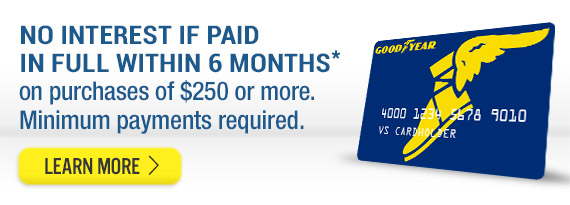 Goodyear Credit Card - Apply Now